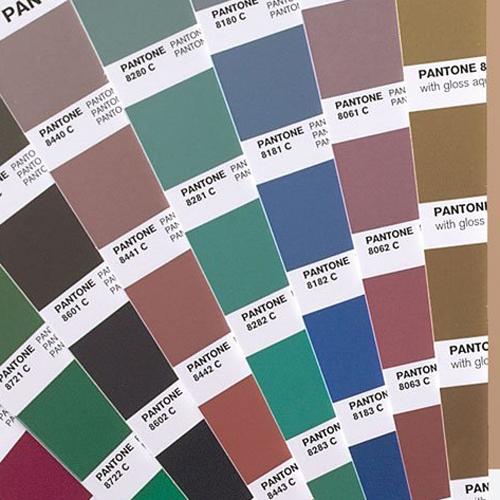 Kleurenwaaiers en kaarten